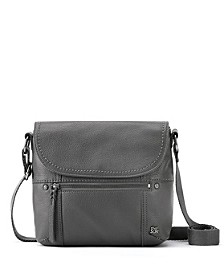 Katniss Leather Flap Crossbody