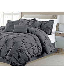 Shabby, Chic 7 Piece Comforter Set, King