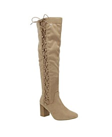 Women's Macon Regular Over-The-Knee Heeled Boots
