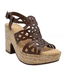 Women's Spice Platform Espadrille Sandals