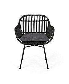 Orlando Outdoor Chairs with Cushions, Set of 2