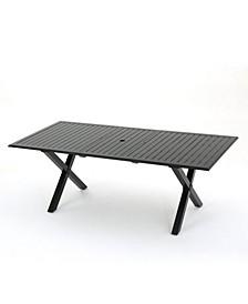 Exuma Outdoor Expandable Cast Rectangular Dining Table