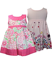 Baby Girls 2-Pc. Floral-Print Sundresses