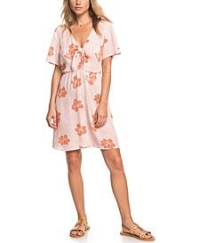 Juniors' Summer On Top Printed Dress