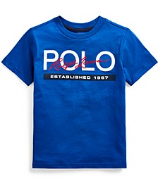 Little Boys Logo Cotton Jersey T-Shirt