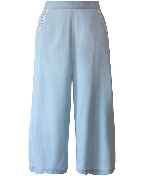 BCBGeneration Chambray Culotte Pants