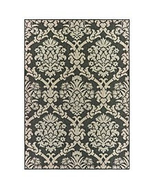 "Scope SCO09 Gray 9'10"" x 12'10"" Area Rug"