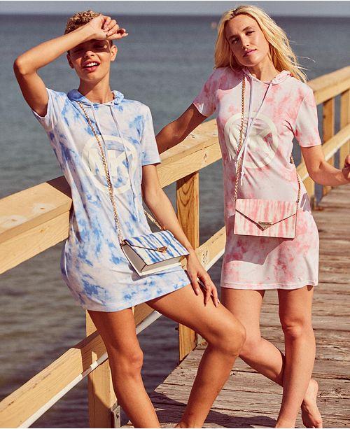 Michael Kors Breezy Tie-Dye Dress