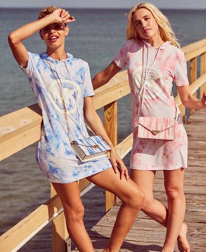 Michael Kors Breezy Tie-Dye Dress, Regular & Petite Sizes
