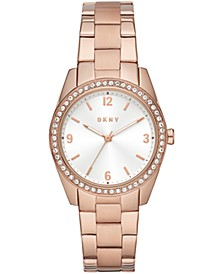 Women's Nolita Rose Gold-Tone Stainless Steel Bracelet Watch 34mm