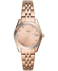 Women's Scarlet Rose Gold-Tone Stainless Steel Bracelet Watch 32mm