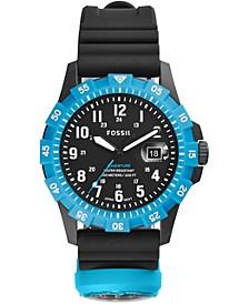 Men's FB-Adventure Black Silicone Strap Watch 42mm