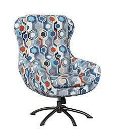 Entasi Modern Swivel Rocking Chair