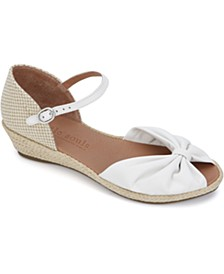 by Kenneth Cole Women's Lucille Wedge Sandals
