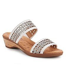Kiwi Slide Wedge Sandal
