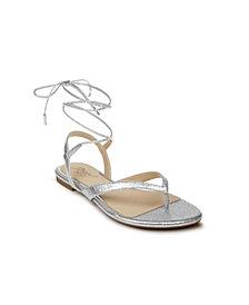 Jewel Badgley Mischka Nolana Dress Thong Flat Sandal
