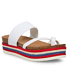 Case Flatform Sandals