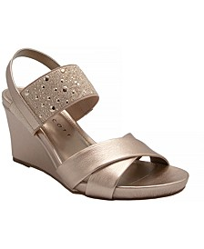 Parrisa Wedge Sandals, Created for Macy's
