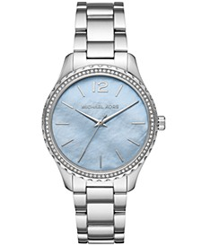 Layton Three-Hand Stainless Steel Watch