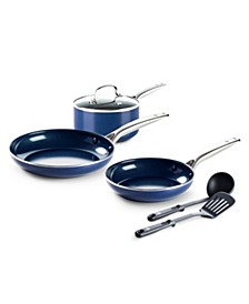 Ceramic Nonstick 6-Pc. Cookware Set