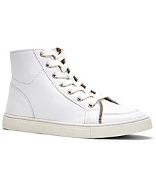Frye & Co Women's Sindy Moto High-Top Lace-Up Sneakers