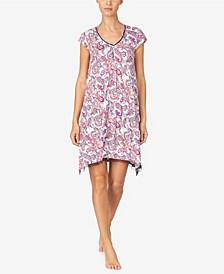 Women's Short Knit Nightgown