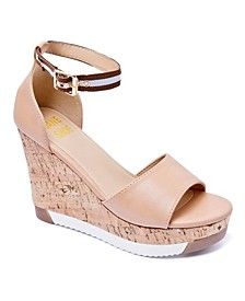 Women's Grace Lug Sole Wedge Sandals
