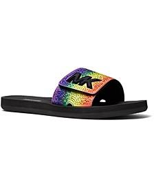 MK Pool Slide Sandals