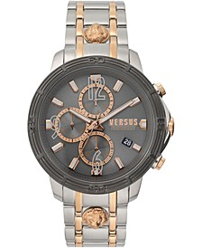 Men's Bicocca Two-Tone Stainless Steel Bracelet Watch 46mm