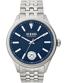 Men's Colonne Stainless Steel Bracelet Watch 45mm