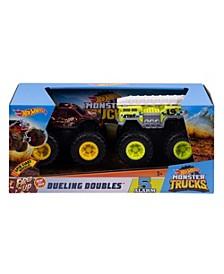 CLOSEOUT! Hot wheels® Monster Trucks Dueling Doubles™ 2-pk