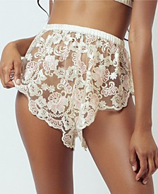 Embroidered Tap Shorts