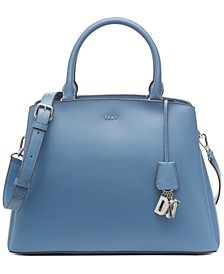 Paige Leather Large Satchel, Created for Macy's