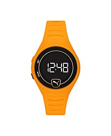 Forever Faster LCD Yellow Polyurethane Watch 42mm
