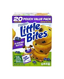 Little Bites Blueberry Muffins, 20 Count