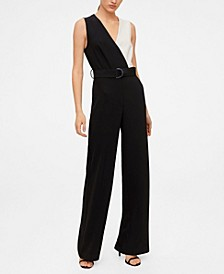 Bicolour Long Jumpsuit