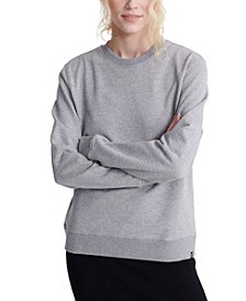 Women's Organic Cotton Standard Label Loopback Sweatshirt