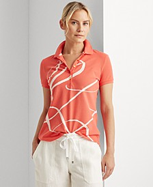 Printed Monogram Polo Shirt