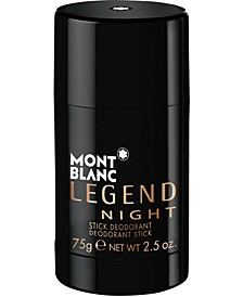 Men's Legend Night Deodorant Stick, 2.5 oz.