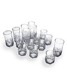 Brighton 16-Pc. Glassware Set