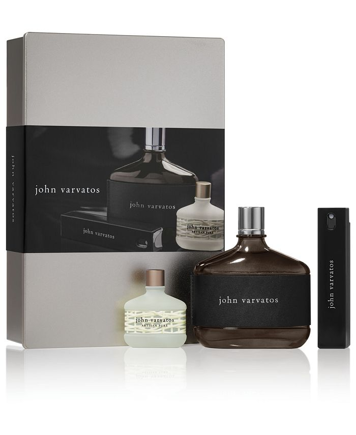 John Varvatos - Men's 3-Pc. Heritage Eau de Toilette Gift Set