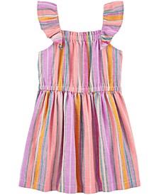 Toddler Girls Rainbow-Stripe Dress