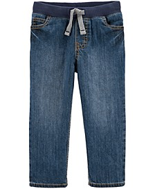Toddler Boys Pull-On Cotton Denim Pants