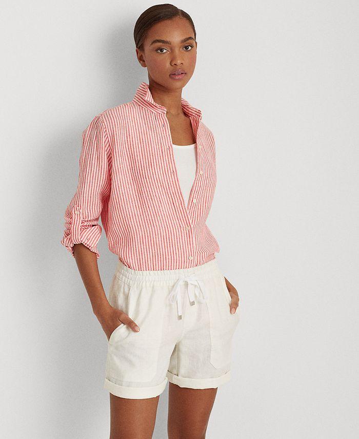 Lauren Ralph Lauren - Striped Collared Shirt