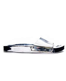 My Fav Metallic Women's Poolslide Sandal
