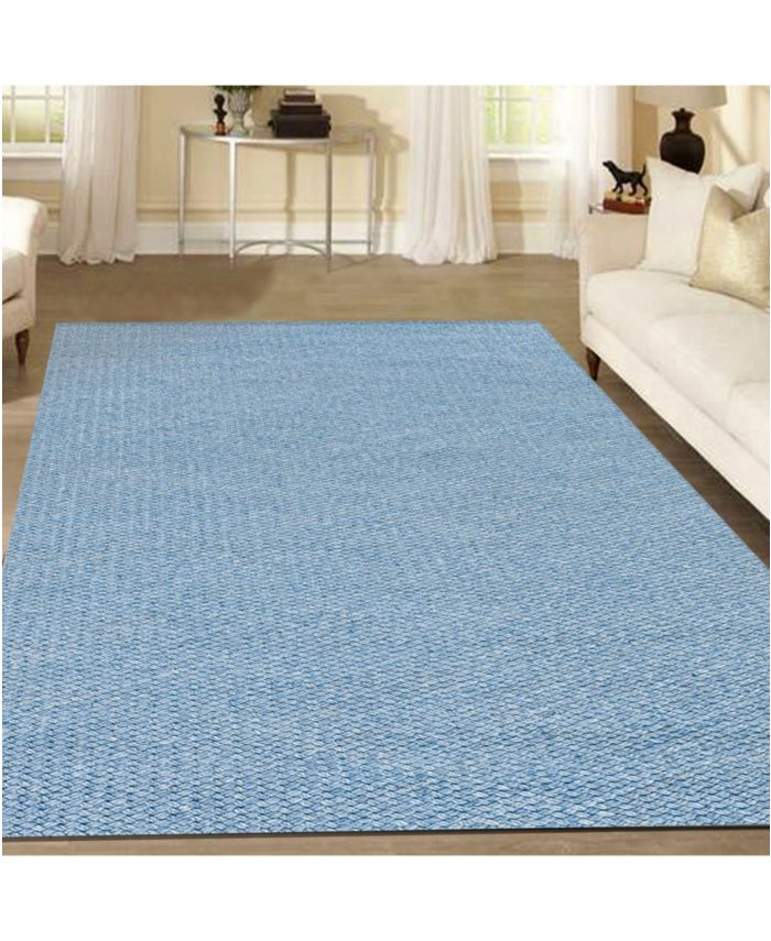 KM Home Bellissima 012/1004 Denim 10' x 14' Area Rug & Reviews - Rugs - Macy's