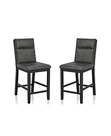 Harlence Upholstered Counter Height Chairs, Set of 2