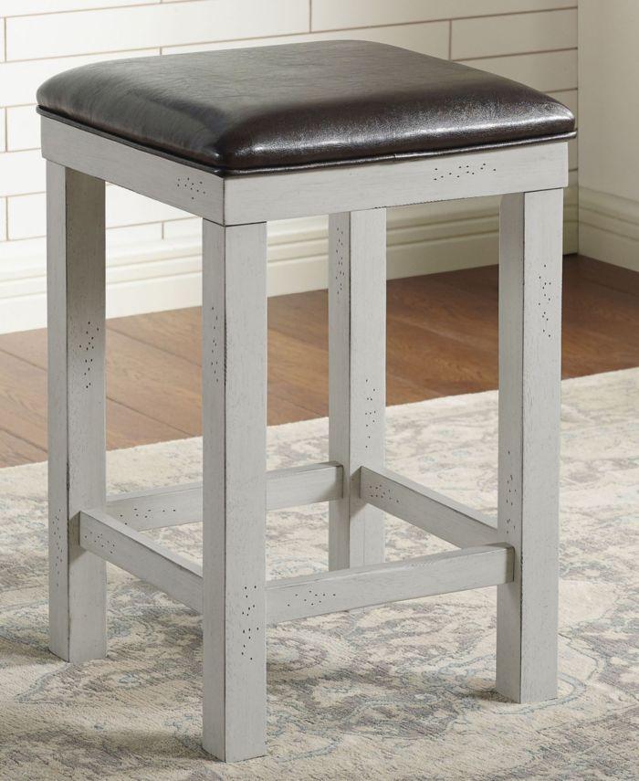 Furniture of America Garreth 3-Piece Counter Dining Set & Reviews - Furniture - Macy's