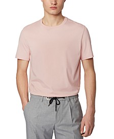 BOSS Men's Tiburt 55 Light Pink T-Shirt