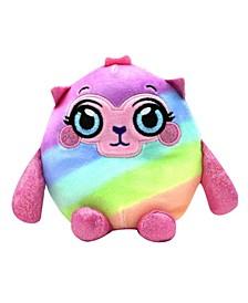 Squeezy, Squishy, Moldable Plush, Stuffed Animal, Llama